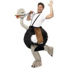 Costume a cavallo di struzzo