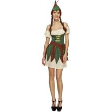 Costume di Robin Hood donna