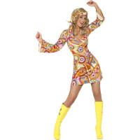 Costume da hippie anni 60 sexy