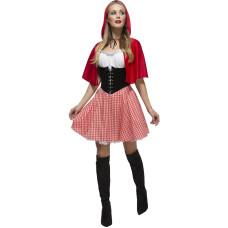 Costume da cappuccetto rosso elegante