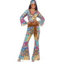 Costume da hippie flower power