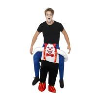 Costume a cavallo di clown