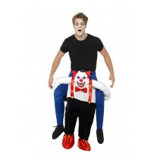 Costume a cavallo di clown