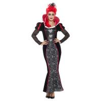 Costume da regina di cuori barocca