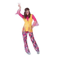 Costume da hippie lady flower