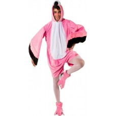 Costume a pantaloncino da fenicottero
