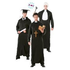 Costume da studente, prete o giudice