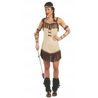 Costume da indiana nativa