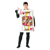 Costume da carta da gioco uomo