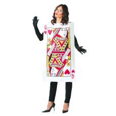 Costume da carta da gioco donna