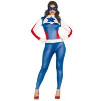 Costume di Capitan America donna