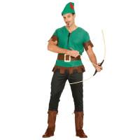 Costume da fuorilegge medioevale