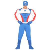 Costume di Capitan America uomo