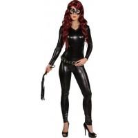 Costume di Catwoman lucido