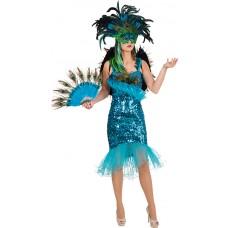 Costume da pavone