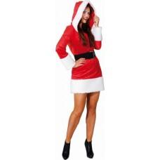 Costume da Babba Natale con cappuccio
