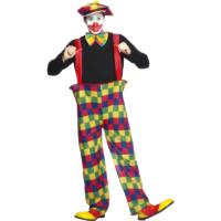 Costume da pagliaccio giocoliere
