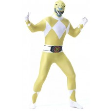 Costume da Power Ranger giallo