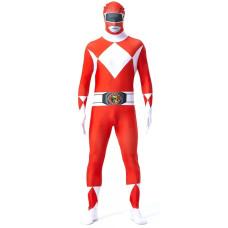 Costume da Power Ranger rosso