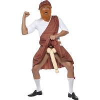 Costume da scozzese superdotato