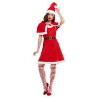 Costume da Babba Natale smanicato