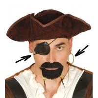 Kit da pirata copri occhio