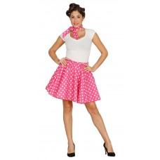 Costume da pin up anni 50 pink