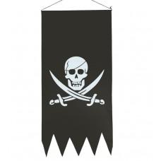 Bandiera dei pirati a stendardo
