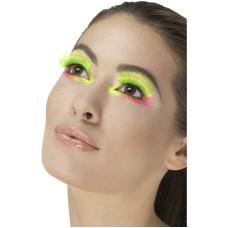 Ciglia verdi neon