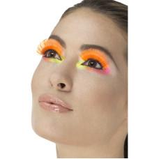 Ciglia arancioni neon