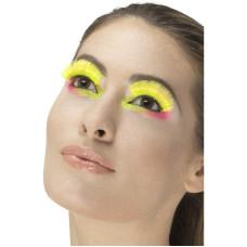 Ciglia gialle neon
