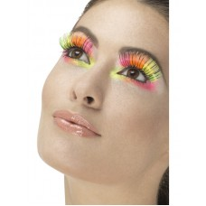 Ciglia multicolore neon