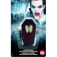 Paio di denti da vampiro