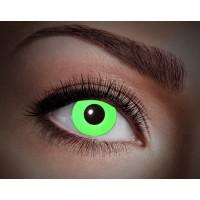"""Paio di lenti a contatto UV """"Verde totale"""""""