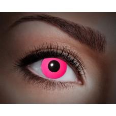 """Paio di lenti a contatto UV """"Pink totale"""""""