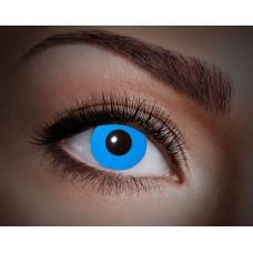 """Paio di lenti a contatto UV """"Blu totale"""""""