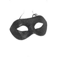 Maschera domino glitter