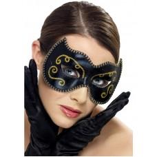Maschera nera e oro