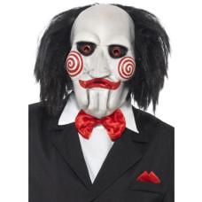 Maschera di Saw Jigsaw con capelli