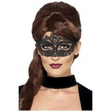 Maschera di pizzo nera