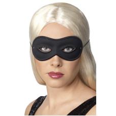 Maschera domino nera