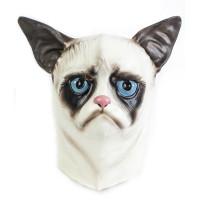 Maschera da gatto siamese