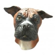 Maschera da cane boxer