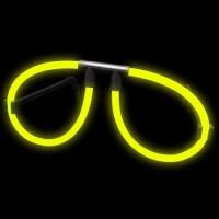 Occhiali luminosi gialli