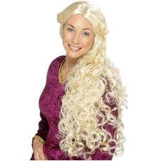 Parrucca medioevale bionda