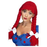 Parrucca da bambola con trecce