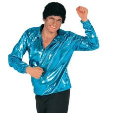 Camicia anni 80 blu