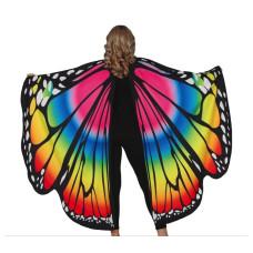 Ali da farfalla arcobaleno
