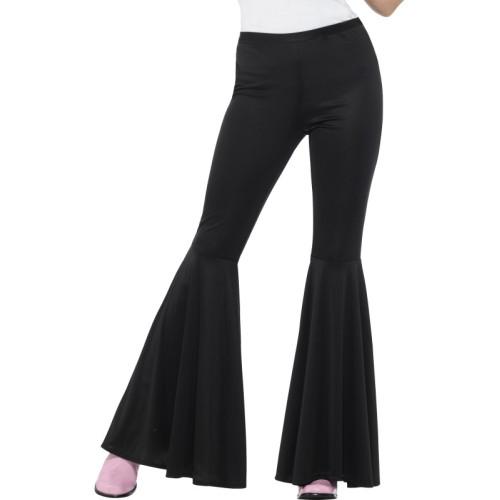 design di qualità 361b6 48b28 Pantaloni a zampa di elefante da donna neri