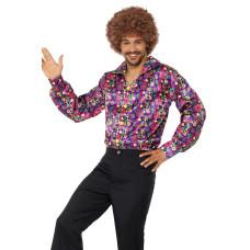 Camicia da hippie psichedelica